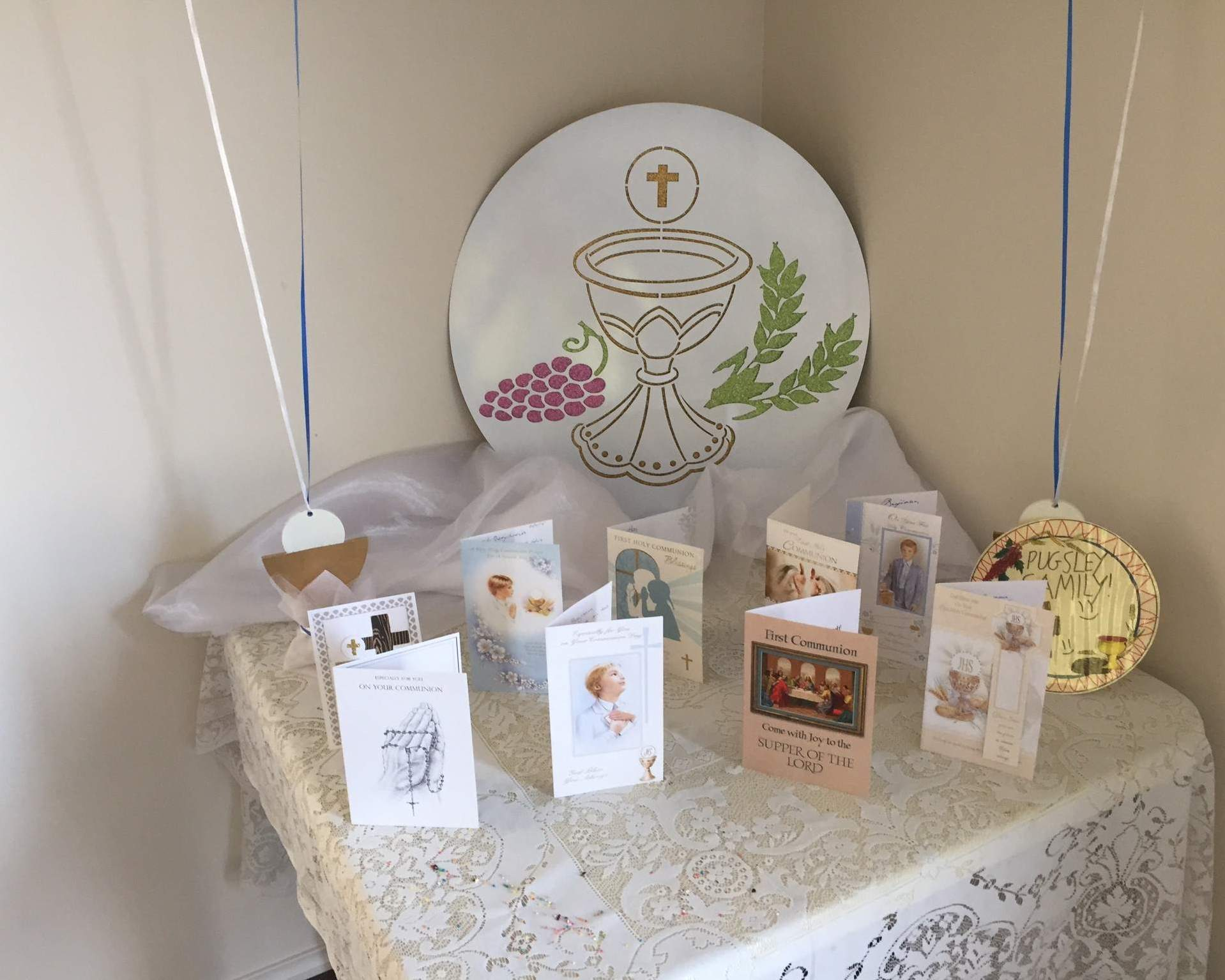 First Communion Table Decoration 007 Holy Beginnings